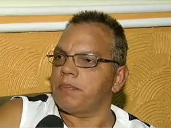 Josias Andrade ficou ferido ao ter a perna presa em um ralo - Foto: Reprodução l TV UOL
