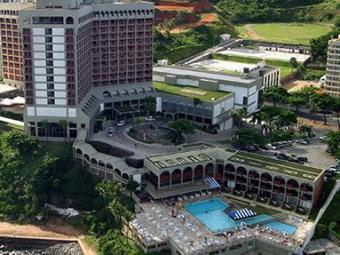 Piscinas do hotel em Ondina, onde a criança se afogou - Foto: Carlos Casaes   Ag. A TARDE