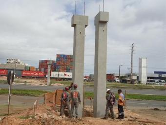 Na BR-324, as alterações ocorrem para viabilizar instalação das vigas da passarela - Foto: Divulgação l ViaBahia