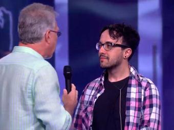 Alisson foi eliminado com 40% dos votos - Foto: Reprodução   TV GLOBO