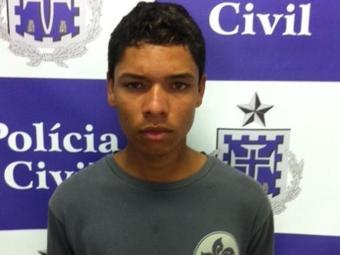 Lucas Rocha é apontado pela polícia de envolvimento no crime - Foto: Divulgação/Polícia Civil