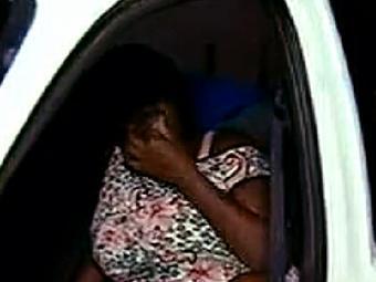 Verônica ainda aguardou 30 minutos na entrada do HGE, mas não foi atendida - Foto: Reprodução | TV Record Bahia