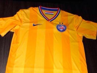 Suposta terceira camisa do Bahia, na cor amarela - Foto: Reprodução