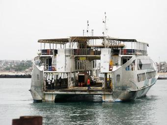 Além do ferry Ivete Sangalo, outras quatro embarcações estão em atividade neste domingo - Foto: Raul Spinassé/ Ag. A TARDE