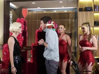 Priscila briga com Marcelo por causa das garotas - Foto: Reprodução | TV Globo