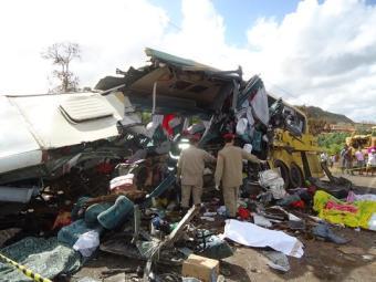 Acidente aconteceu no km 322, por volta das 6h10 - Foto: Reprodução | Portal Alta Pressão