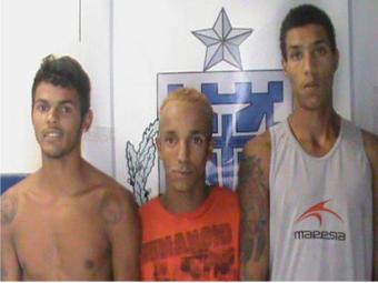 Trio esta sendo investigado por tráfico de drogas na região - Foto: Divulgação/Polícia Civil