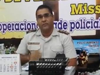 Capitão Josiedson Mendes Leandro, da 78ª CIPM de Juazeiro - Foto: Reprodução l YouTube