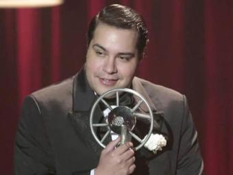 Tiago Abravanel, mais uma vez, interpretou uma música do Tim Maia - Foto: Reprodução   TV Globo