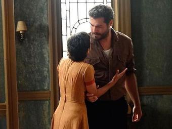 Toni diz a Gaia que o que aconteceu entre eles foi um erro - Foto: Reprodução   TV Globo