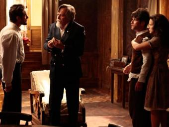 Ernest confessa aos filhos que matou a mãe deles - Foto: Reprodução | TV Globo