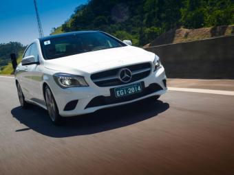 CLA tem linhas de cupê - Foto: Wander Malagrine / Mercedes-Benz