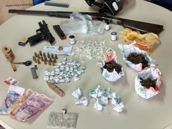 Material apreendido pela polícia na ação - Foto: Divulgação/ Polícia Civil