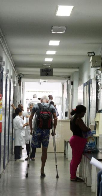 Instituição pública é referência em traumaortopedia - Foto: Lúcio Távora | Ag. A TARDE