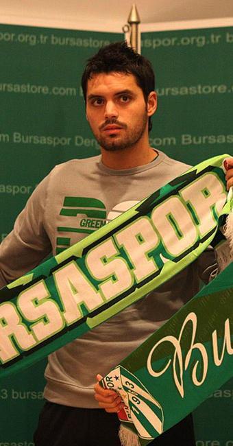 Pinto marcou 29 gols pelo clube turco - Foto: Bursaspor | Divulgação