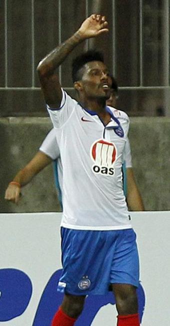 Atacante jogou nos três jogos do Bahia na temporada e marcou um gol contra o Santa Cruz - Foto: Felipe Oliveira / EC Bahia / Divulgação