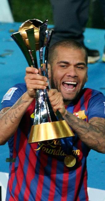 Lateral revelado pelo Bahia foi eleito melhor do mundo na posição pela quarta vez em premio da Fifa - Foto: Junji Kurokawa   AP Photo