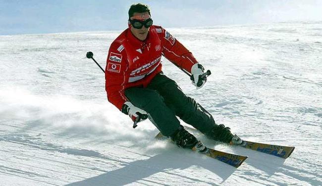 Piloto se acidentou quando praticava esqui - Foto: Agência Reuters