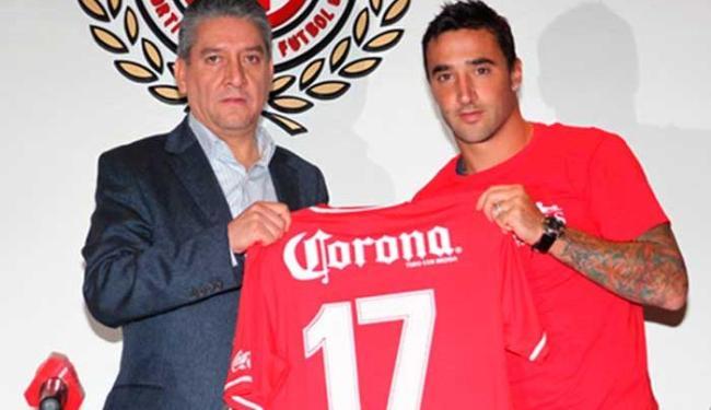 Salgueiro foi campeão da Libertadores em 2009 pelo Estudiantes - Foto: Deportivo Toluca | Divulgação