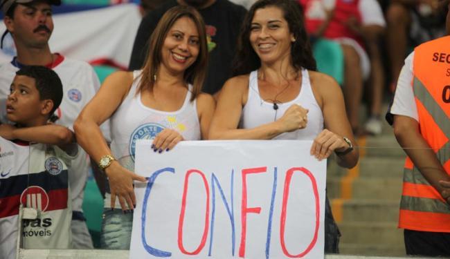 Torcida do tricolor viveu grandes emoções em 2013 - Foto: Edilson Lima   Ag. A TARDE