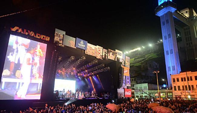 Cerca de 390 mil pessoas participaram dos quatro dias de festas na Praça Cairu, no Comércio - Foto: Max Haack | Divulgação | Agecom