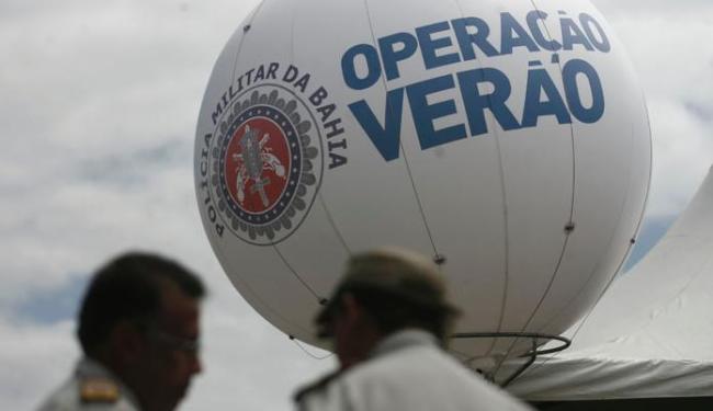 Operação visa a intensificação do policiamento em locais de vocação turística em todo o estado - Foto: Raul Spinassé/ Ag. A TARDE
