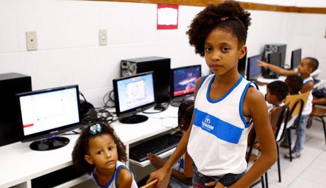 Foram abertas 60 mil novas vagas nas escolas da rede municipal de Salvador - Foto: Fernando Vivas / Ag. A Tarde