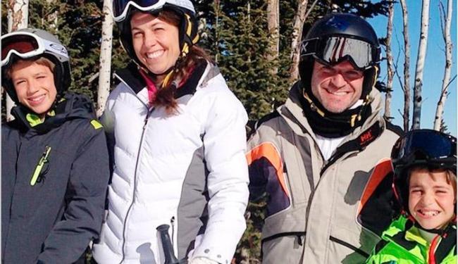 Rubinho curte férias com a família nos Estados Unidos - Foto: Instagram   Reprodução