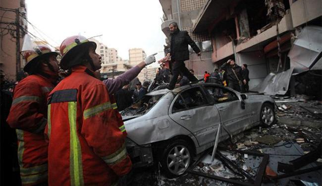 Atentado aconteceu na cidade de Beirute, capital do Líbano - Foto: Mahmoud Kheir l Reuters