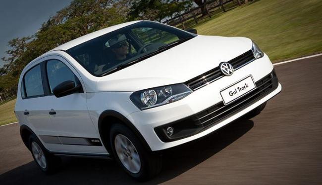 Gol, o veículo de entrada da Volkswagen, teve 255.057 unidades emplacadas em 2013 no Brasil - Foto: Wagner Malagrine / Divulgação