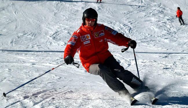O esqui sempre foi uma das atividades preferidas de Schumacher - Foto: Stringer | Reuters
