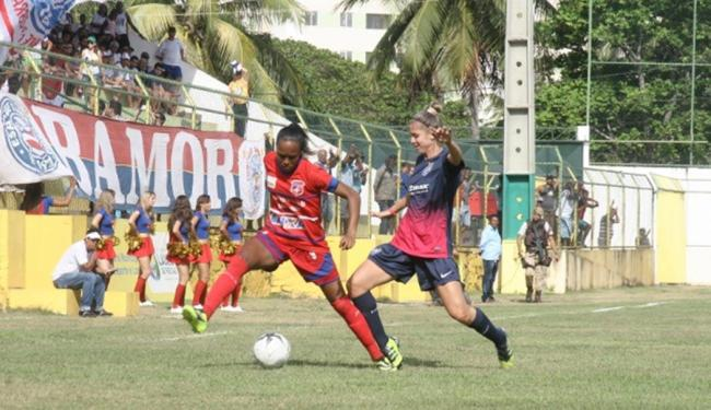 O primeiro jogo entre São Francisco do Conde e Bahia acabou decidindo o campeão - Foto: FBF   Divulgação