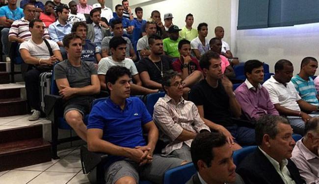 Reapresentação do elenco do Bahia ocorreu na manhã desta segunda-feira, 6, no Fazendão - Foto: Divulgação | Esporte Clube Bahia