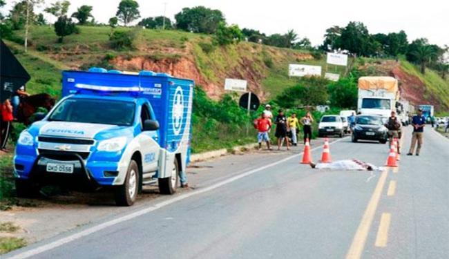 Acidente aconteceu na altura do km 852 da BR-101 - Foto: Divulgação | SulBahia News