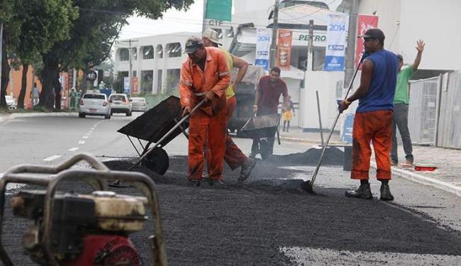 Serão investidos mais R$ 31 milhões na 2ª fase do programa de requalificação do asfalto - Foto: Joá Souza/ Ag. A TARDE