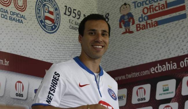 Branquinho foi um do reforços do Bahia, que esteve em campo nesta terça - Foto: Raul Spinassé | Ag. A TARDE