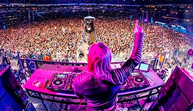 David Guetta foi a primeira atração internacional a se apresentar na Arena Fonte Nova - Foto: Divulgação