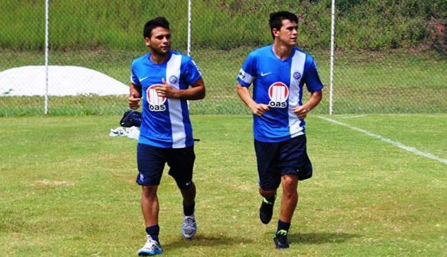 Os irmãos Maxi e Emanuel Biancucchi já estão treinando no Fazendão - Foto: Esporte Clube Bahia   Divulgação