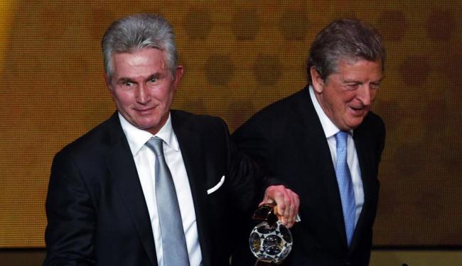 Jupp Heynckes (à direita) foi campeão da Liga dos Campeões de 2013 com o Bayern de Munique - Foto: Arnd Wiegmann   REUTERS