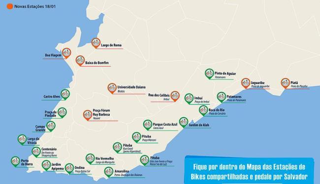 Oito novas estações serão inauguradas neste sábado, 18 - Foto: Agecom | Prefeitura