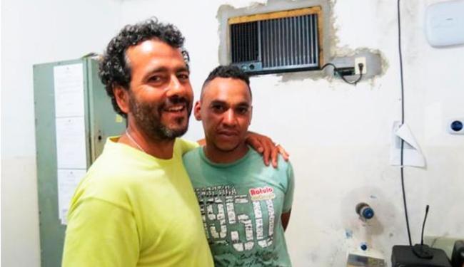 Ator perdoou e até abraçou o assaltante - Foto: Keile Araújo/ Blog Itororó Já
