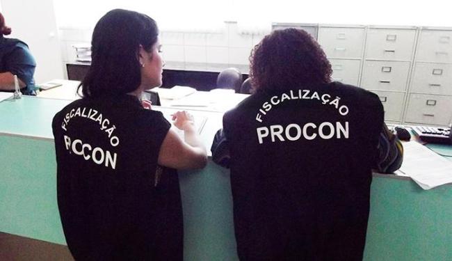 Ao todo, 47 instituições foram fiscalizadas pelo Procon - Foto: Divulgação | Procon-BA
