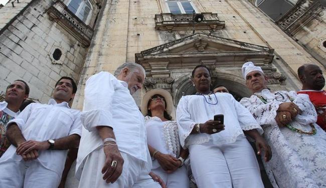 Jaques Wagner, ACM Neto e demais políticos marcam presença na festa do Bonfim - Foto: Lúcio Távora   Ag. A TARDE