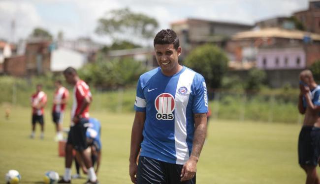Jonathan deixa o Bahia antes mesmo de entrar em campo - Foto: Edilson Lima | Ag. A TARDE