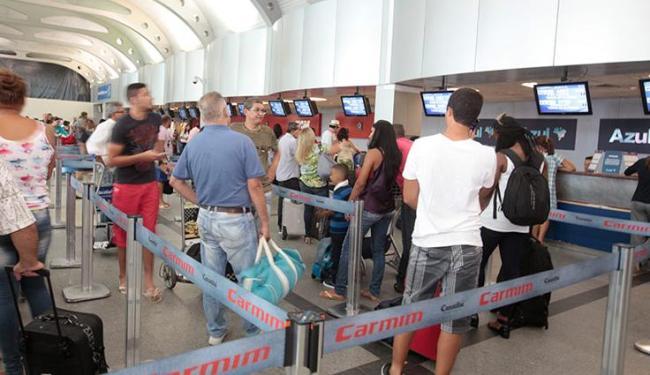 Queda de energia no aeroporto de Salvador durou aproximadamente 10 minutos, segundo a assessoria - Foto: Edilson Lima | Ag. A TARDE