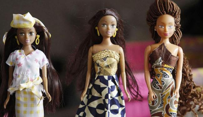 Três modelos das Rainhas da África - Foto: Divulgação