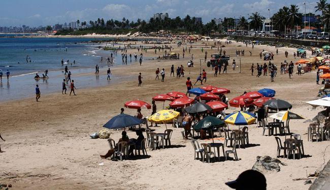 Praias como do Rio Vermelho, Pituba, Armação e Boca do rio estão impróprias para banho - Foto: Fernando Amorim | Ag. A TARDE