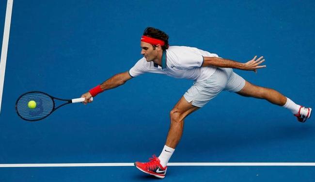 Federer segue vivo na luta pelo seu quinto título do Aberto da Austrália - Foto: Agência Reuters