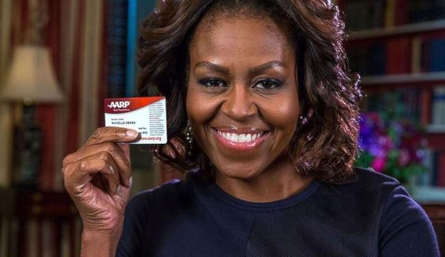 A primeira-dama dos EUA postou foto com cartão do grupo - Foto: Divulgação