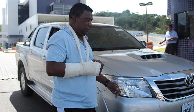 Luiz Carlos atribuiu o acidente